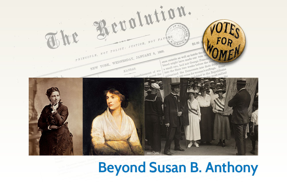 Beyond Susan B. Anthony